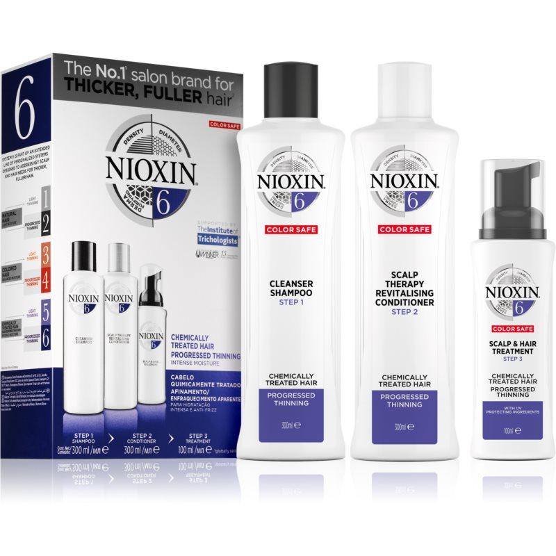 Nioxin System 6 козметичен комплект за разредена коса VI.