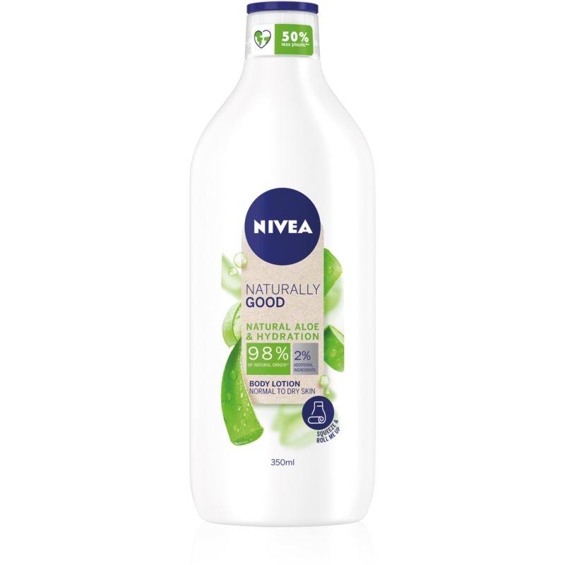 Nivea Naturally Good hidratáló testápoló tej Aloe Vera tartalommal 350 ml