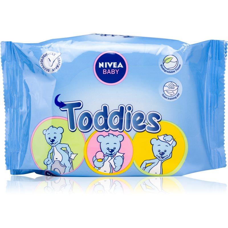 Nivea Baby Toddies почистващи кърпички за деца 60 бр.