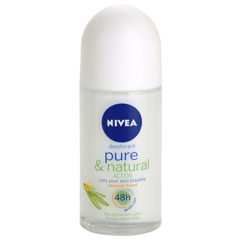 Nivea Pure & Natural golyós dezodor