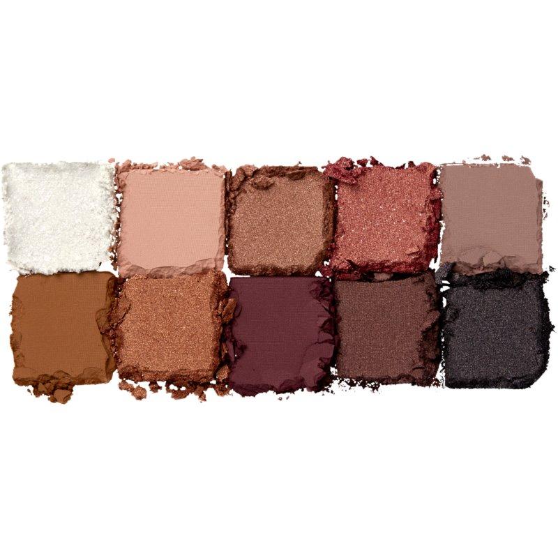 NYX Professional Makeup Away We Glow szemhéjfesték paletta árnyalat 01 Love Beam 10 g