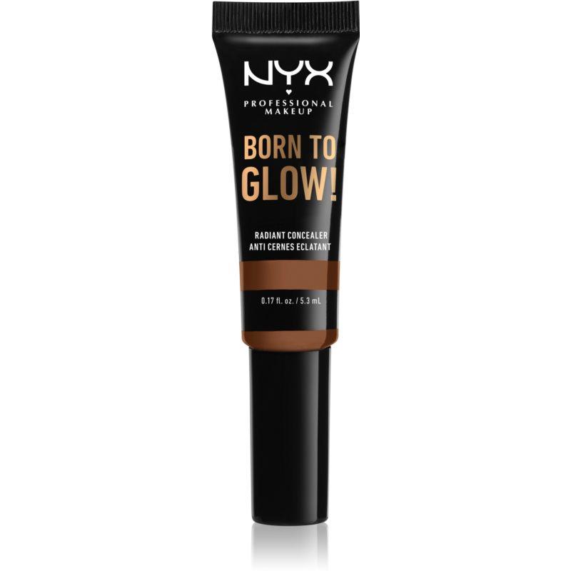 NYX Professional Makeup Born To Glow élénkítő korrektor árnyalat Cappuccino 5,3 ml