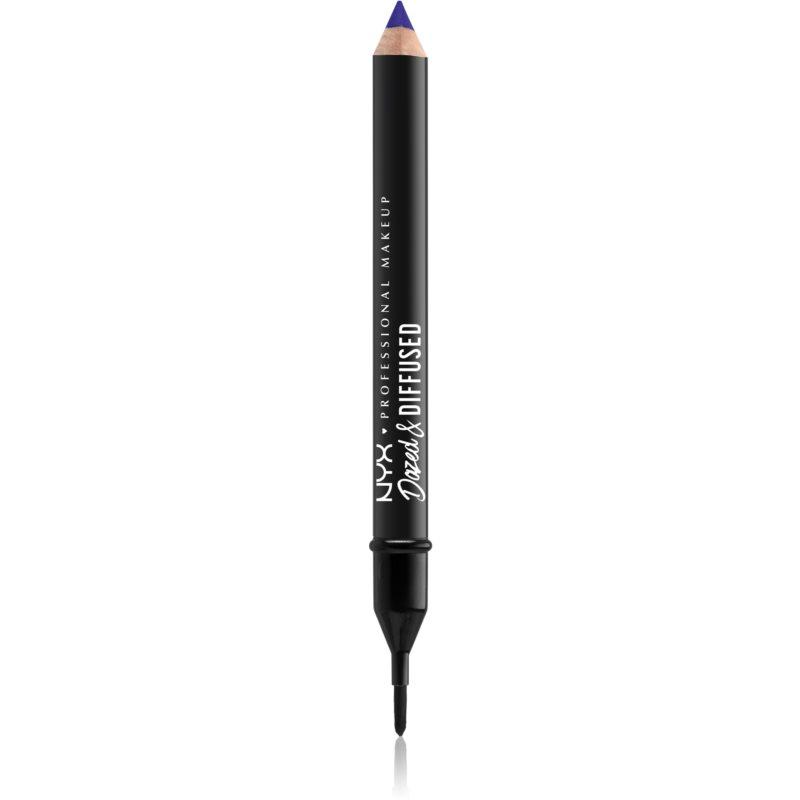 NYX Professional Makeup Dazed & Diffused Blurring Lipstick rúzsceruza árnyalat 11 - Twisted 2,3 g