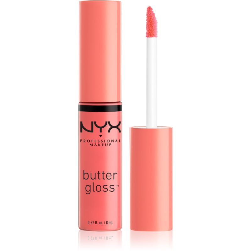 NYX Professional Makeup Butter Gloss lip gloss culoare 08 Apple Strudel 8 ml thumbnail