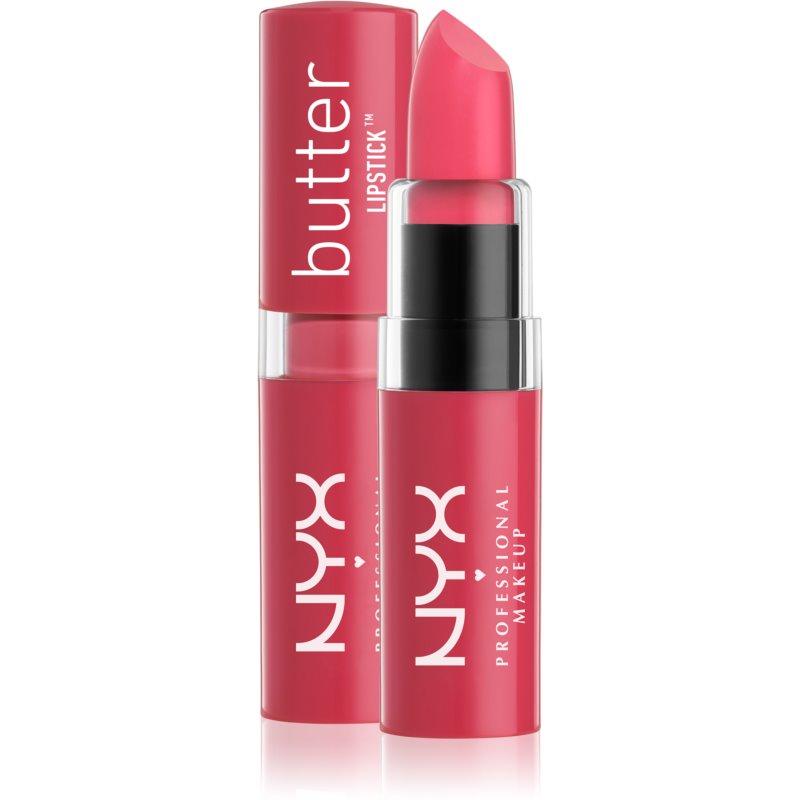 NYX Professional Makeup Butter Lipstick ruj crema culoare 02 Fruit Punch 4,5 g thumbnail