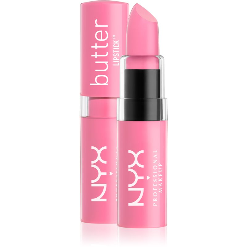 NYX Professional Makeup Butter Lipstick ruj crema culoare 07 Seashell 4,5 g thumbnail