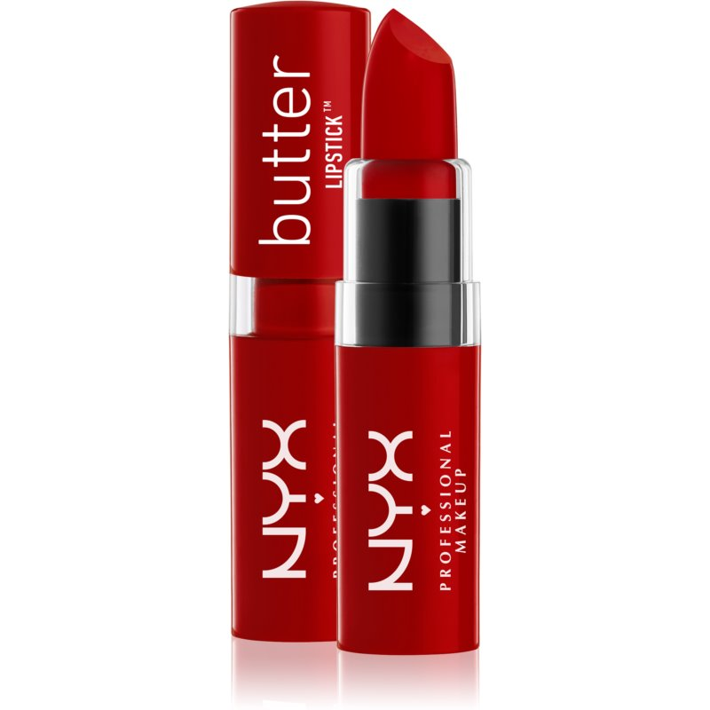 NYX Professional Makeup Butter Lipstick ruj crema culoare 08 Afternoon Heat 4,5 g thumbnail