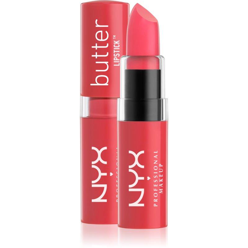 NYX Professional Makeup Butter Lipstick ruj crema culoare 12 Beach BBQ 4,5 g thumbnail
