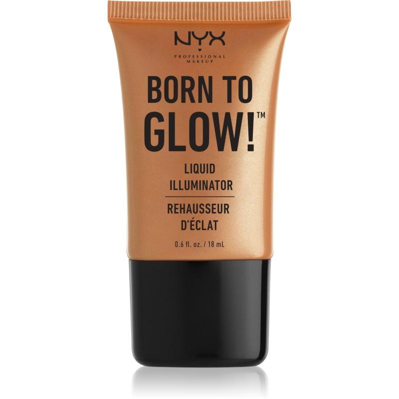 NYX Professional Makeup Born To Glow iluminator lichid culoare 03 Pure Gold 18 ml thumbnail