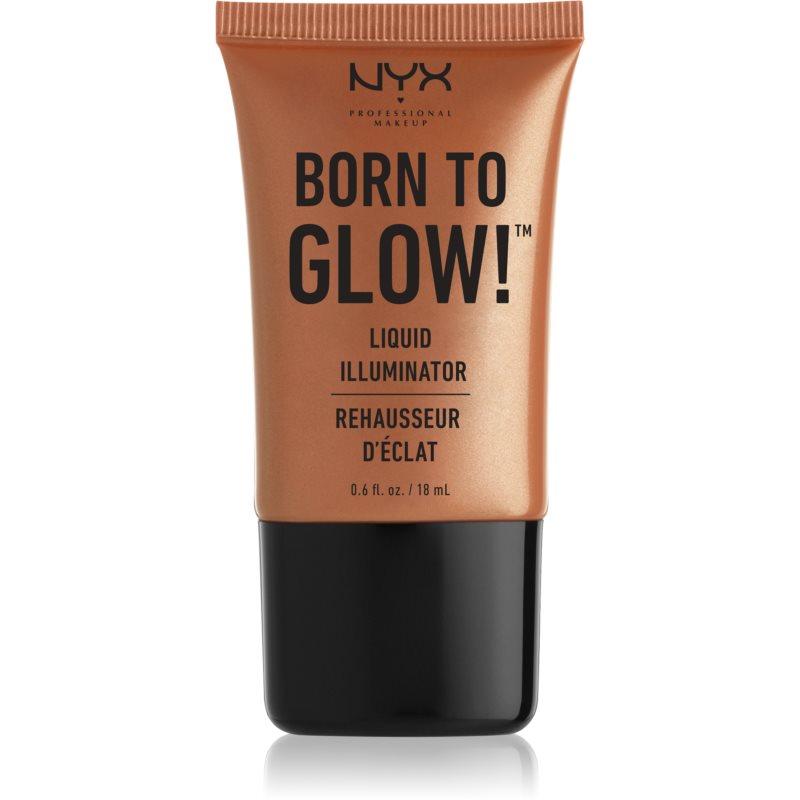 NYX Professional Makeup Born To Glow iluminator lichid culoare 04 Sun Goddess 18 ml thumbnail