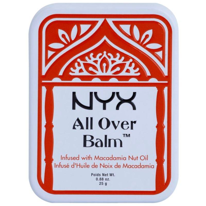 NYX Professional Makeup All Over balsam pentru corp Macadamia Nut Oil 25 g thumbnail