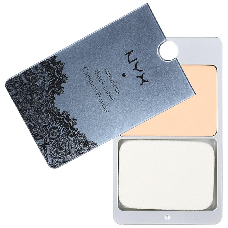 NYX Professional Makeup Black Label pudra compacta culoare 09 Natural Beige 13 g thumbnail