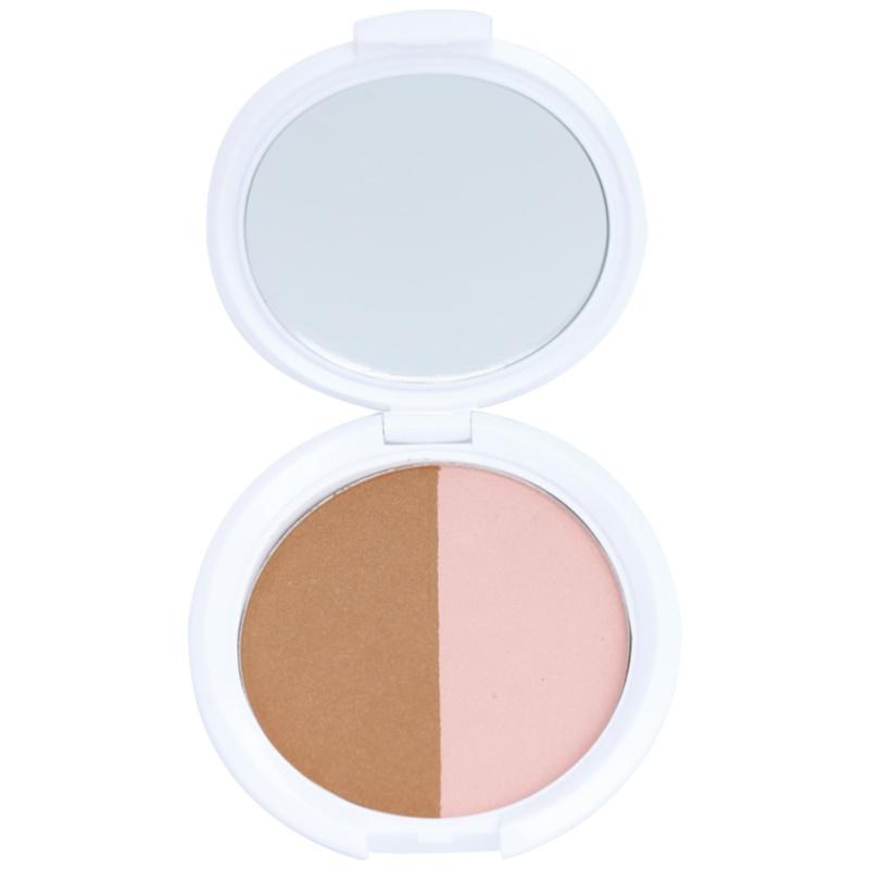 NYX Professional Makeup Bronzer & Blusher Combo autobronzant și blusher 2 in 1 culoare 03 Marbella 10 g thumbnail