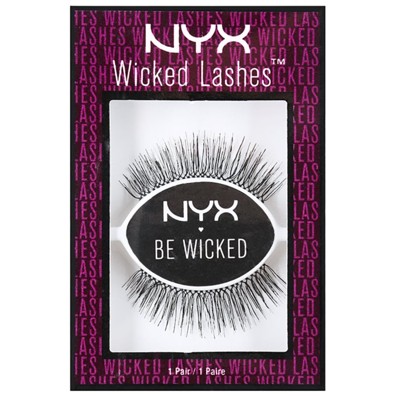 NYX Professional Makeup Wicked Lashes nalepovacie mihalnice Tease