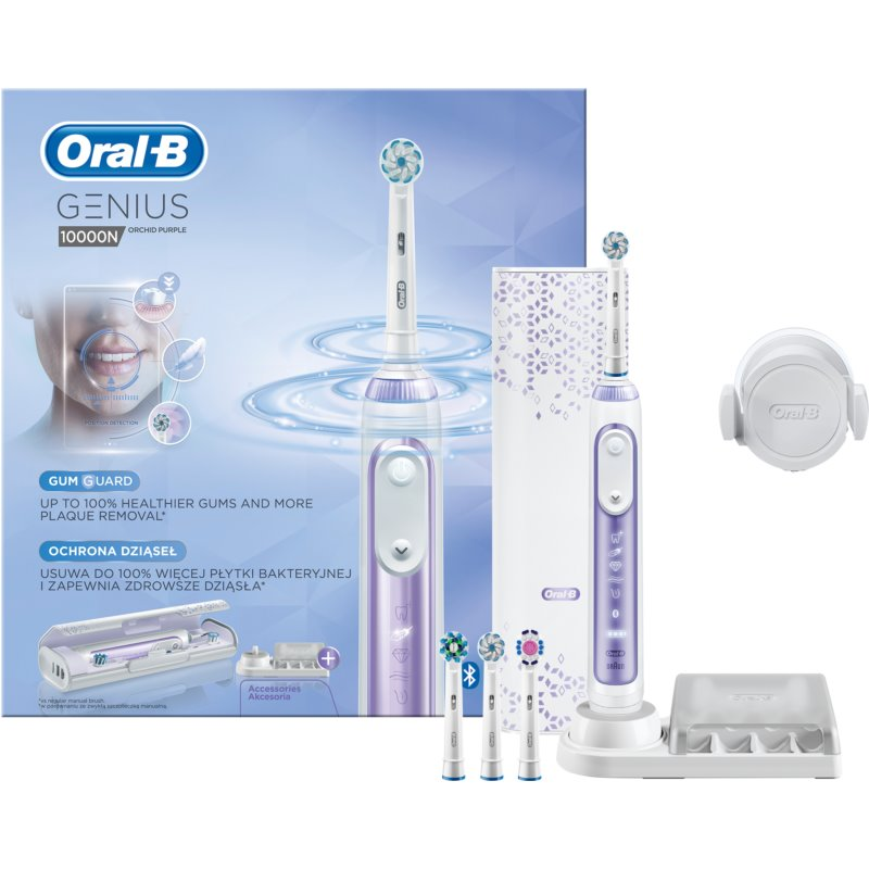 Braun Oral B Genius 10000N Orchid Pur