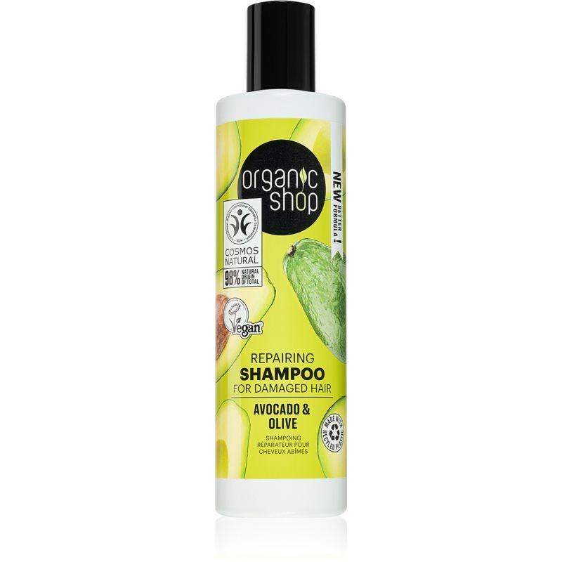 Organic Shop Organic Olive & Orange Flowers възстановяващ шампоан 280 мл.