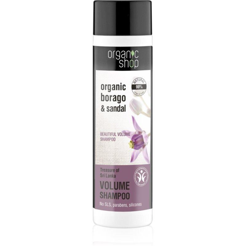 Organic Shop Organic Borago & Sandal шампоан за обем 280 мл.