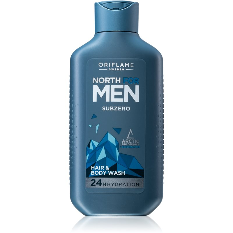 Oriflame North For Men šampón a sprchový gél 2 v 1 pre mužov 250 ml