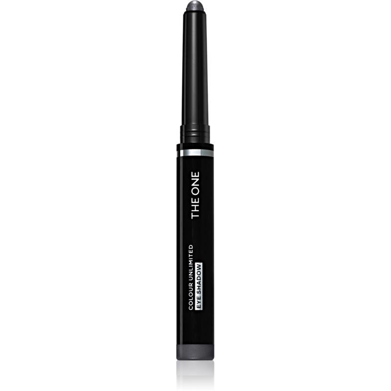 Oriflame The One Colour Unlimited oční stíny v tyčince odstín Charcoal Black 1,2 g