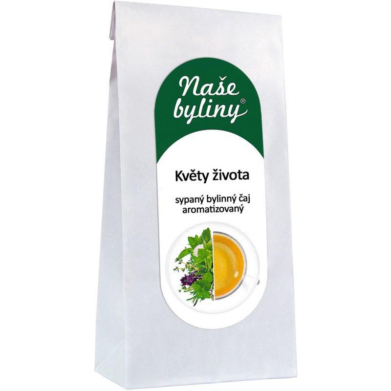 OXALIS Naše byliny Květy života sypaný bylinný čaj aromatizovaný 50 g