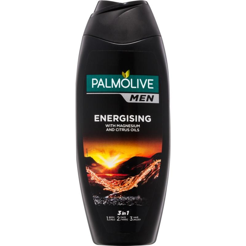 Palmolive Men Energising fürdőgél férfiaknak 3 az 1-ben 500 ml