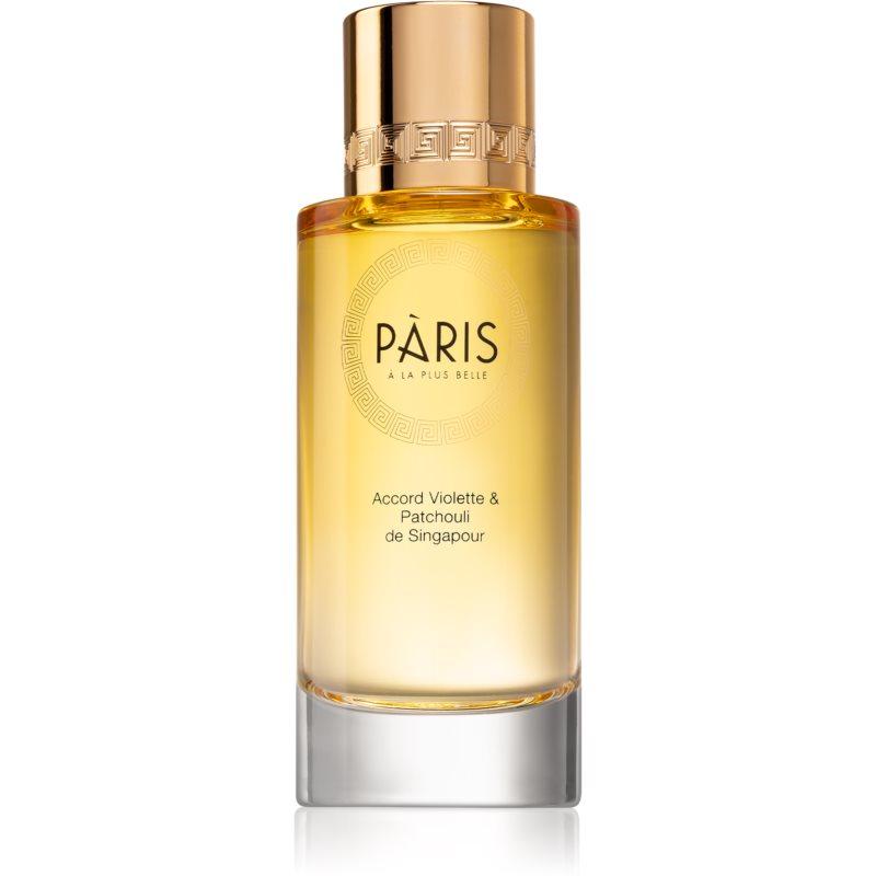 Pàris à la plus belle Luminous Chypre Eau de Parfum Naisille 80 ml