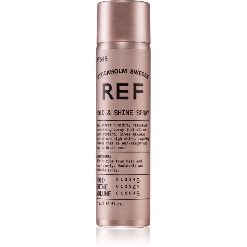 REF Styling lak na vlasy s leskem 75 ml