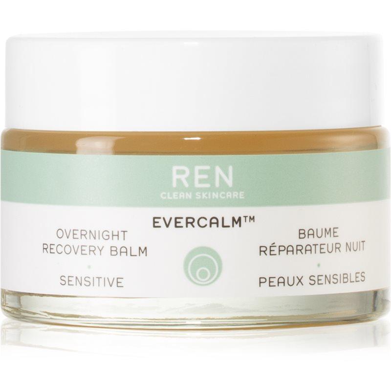 REN Evercalm noční obnovující balzám pro citlivou pleť 30 ml