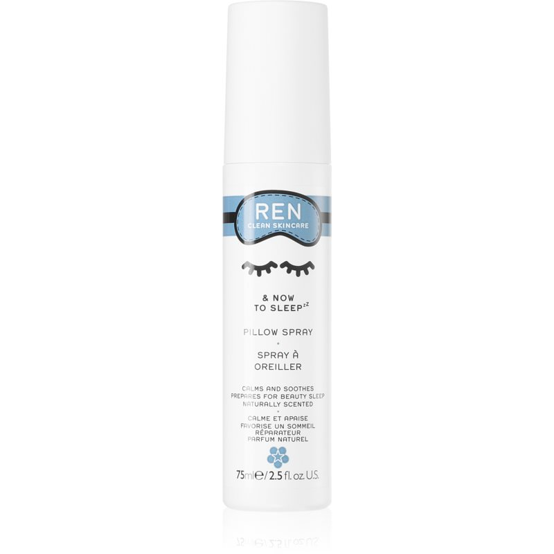 REN & Now To Sleep sprej na vankúš s vôňou levandule 75 ml