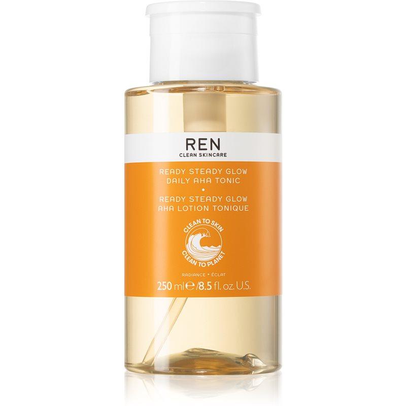 REN Radiance exfoliační čisticí tonikum s AHA kyselinami 250 ml