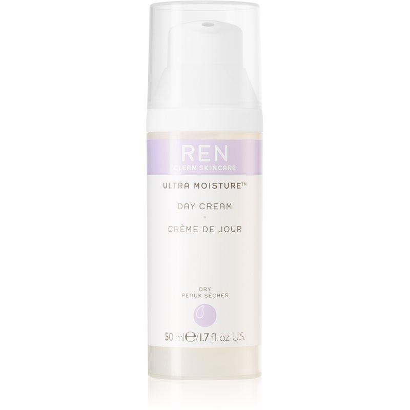 REN Ultra Moisture intenzivně hydratační denní krém pro velmi suchou pleť 50 ml