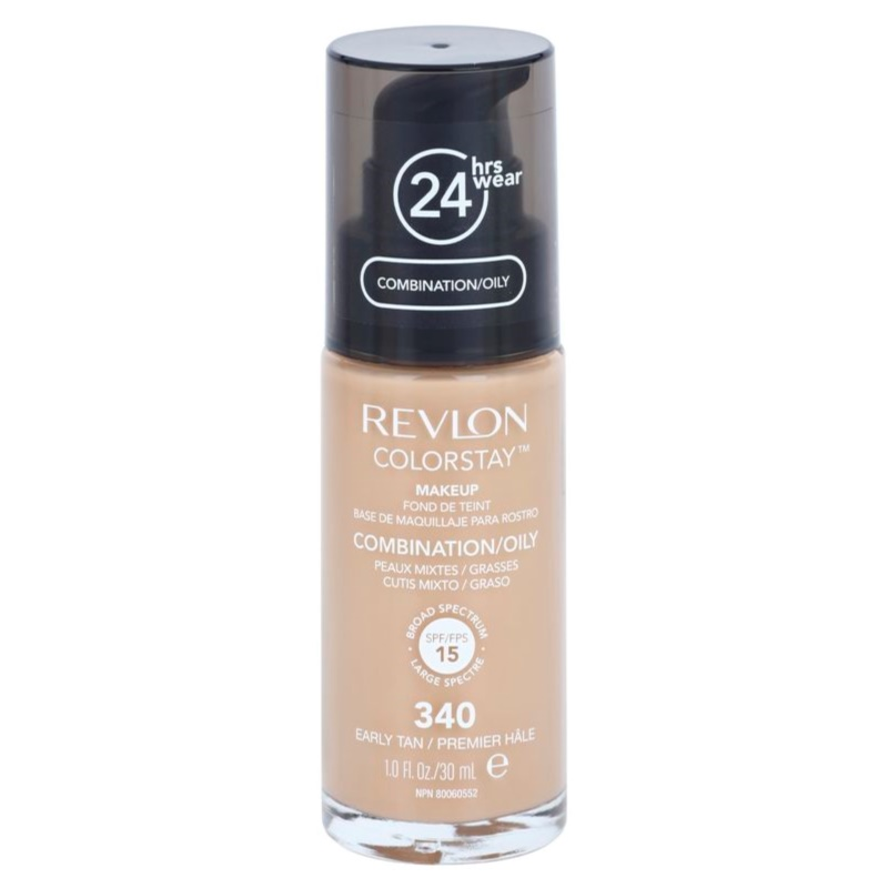 Revlon Cosmetics ColorStay™ Long-Lasting Mattifying Foundation SPF 15 Shade 250 Fresh Beige 30 ml thumbnail
