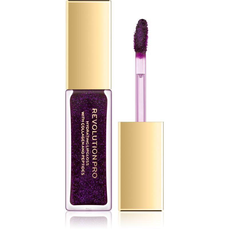Revolution PRO All That Glistens Hydrating Lip Gloss with Glitter Shade Metropolitan 8 ml thumbnail