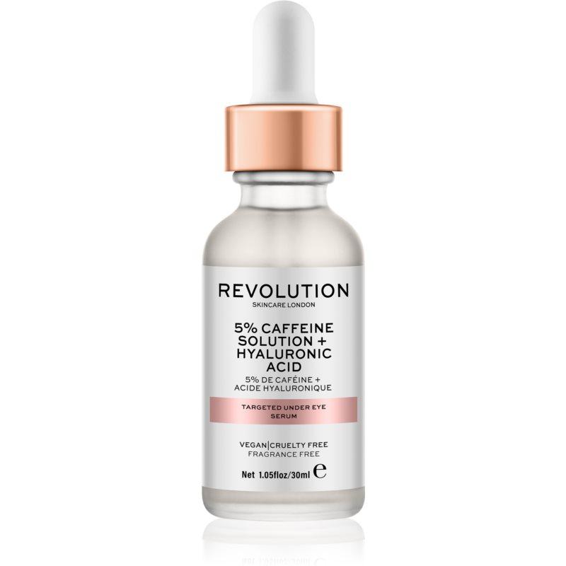 Revolution Skincare Targeted Under Eye Serum – 5% Caffeine Solution + Hyaluronic Acid Serum