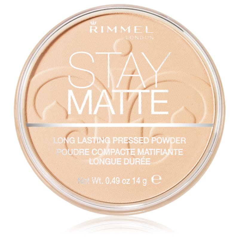 Rimmel Stay Matte пудра цвят 001 Transparent 14 гр.