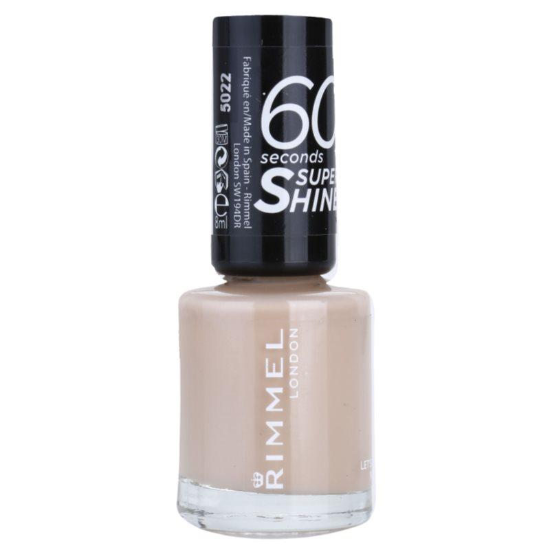Rimmel 60 Seconds Super Shine lac de unghii culoare 513 Let's Get Nude 8 ml thumbnail