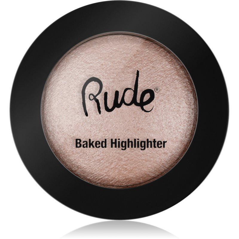 Rude Baked Highlighter kompaktní pudrový rozjasňovač odstín 87851 One In A Million 7 g