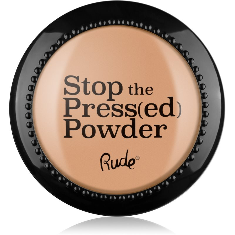 Rude Stop The Press(ed) Powder kompaktní pudr odstín 88094 Rosy Nude 7 g