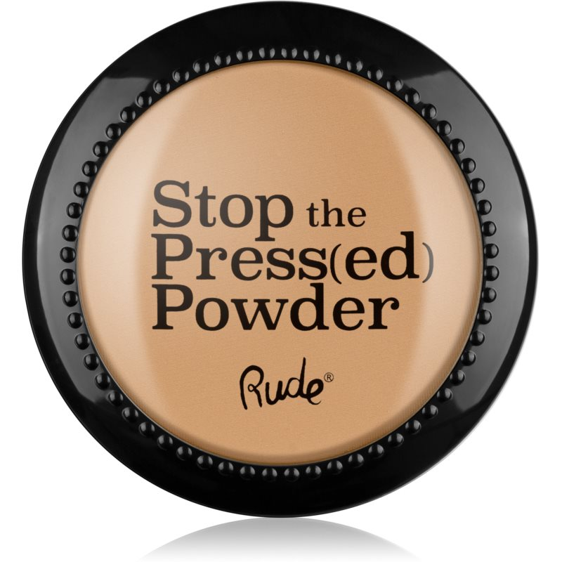 Rude Stop The Press(ed) Powder kompaktní pudr odstín 88095 Nude 7 g