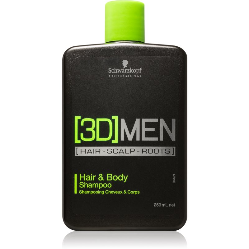 Schwarzkopf Professional [3D] MEN gel de dus si sampon 2in1 250 ml thumbnail