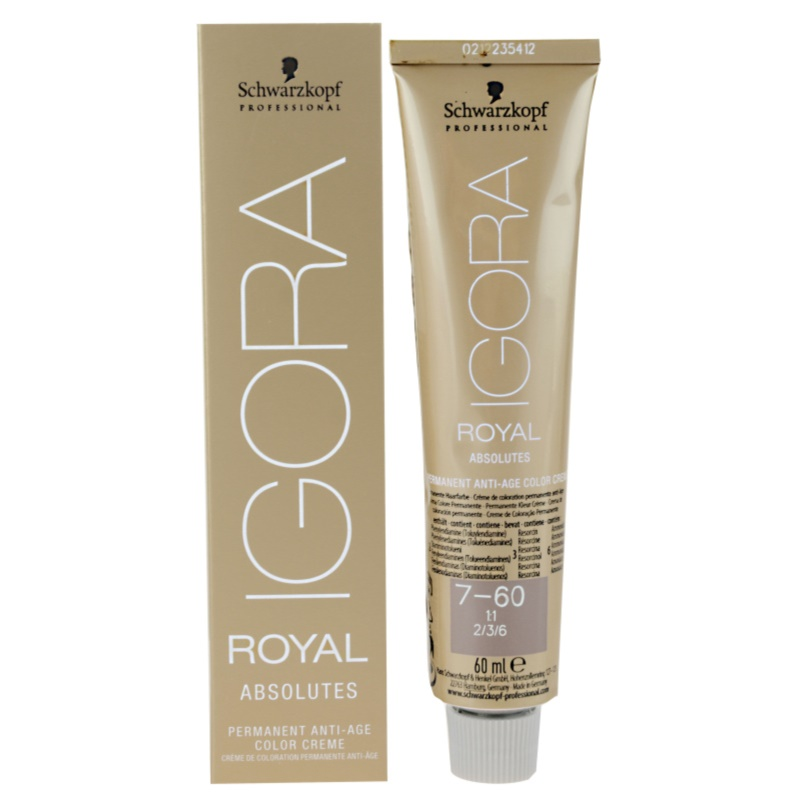 Schwarzkopf Professional IGORA Royal Absolutes culoare par culoare 9-50 9-50 9-50 9-50 (Colorists´s Anti-Age Color 60 ml thumbnail