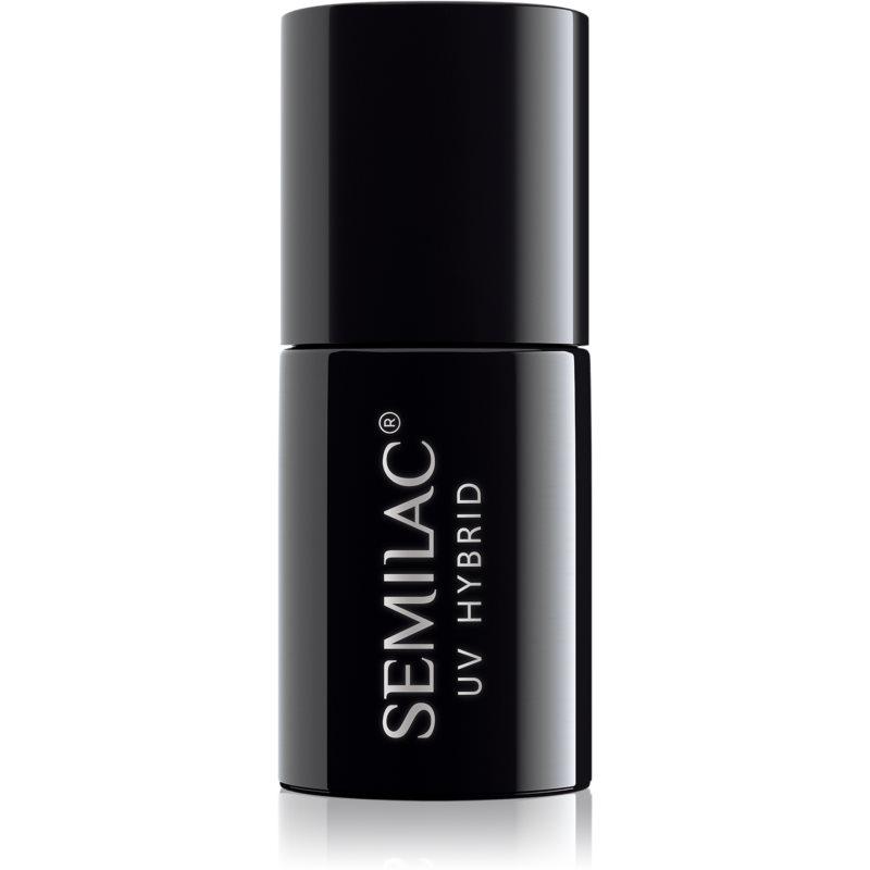 Semilac Paris UV Hybrid Top No Wipe Real Color zselés fedő körömlakk 7 ml