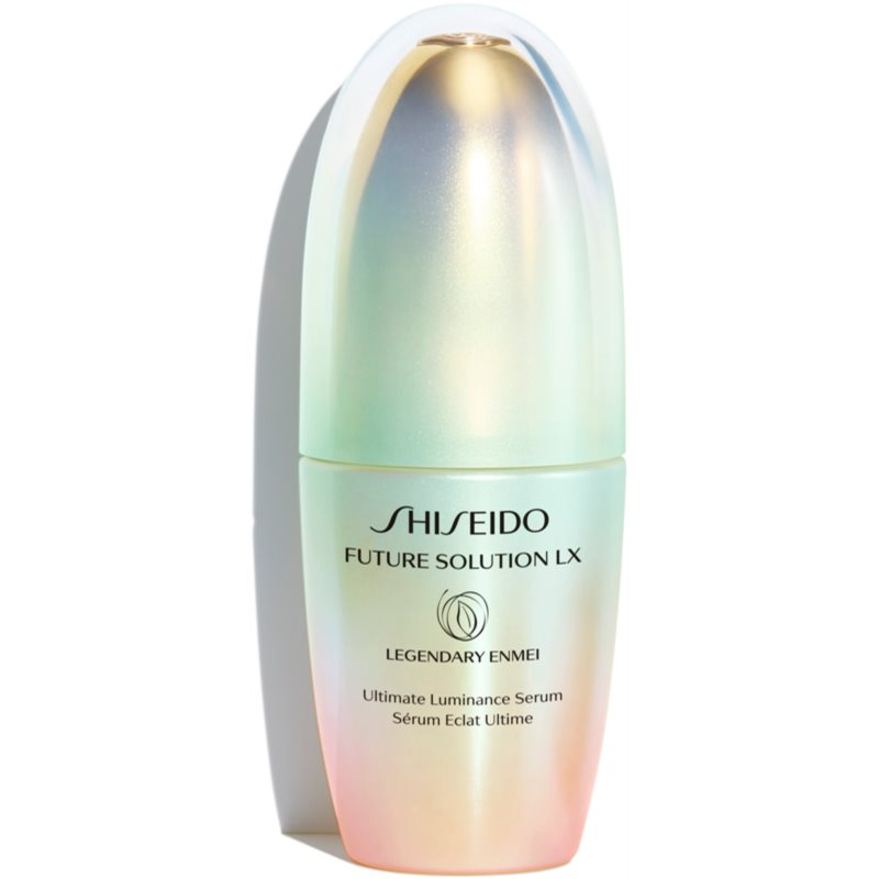 Shiseido Future Solution LX Legendary Enmei Ultimate Luminance Serum luxus ráncellenes szérum a bőr fiatalításáért 30 ml