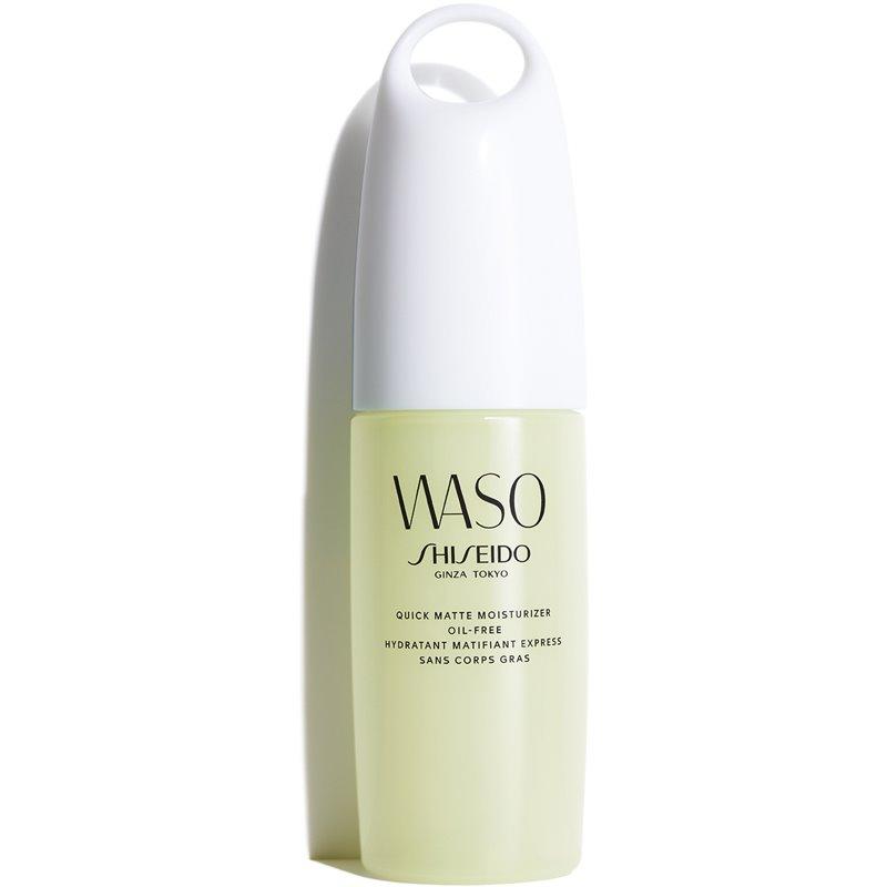 Shiseido Waso Quick Matte Moisturizer матиращ гел с хидратиращ ефект не съдържа олио 75 мл.