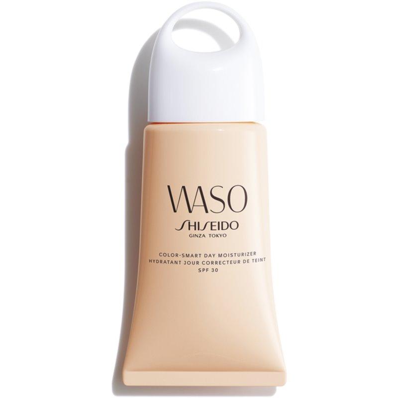Shiseido Waso Color-Smart Day Moisturizer хидратиращ дневен крем за уеднаквяване цвета на кожата SPF 30 50 мл.