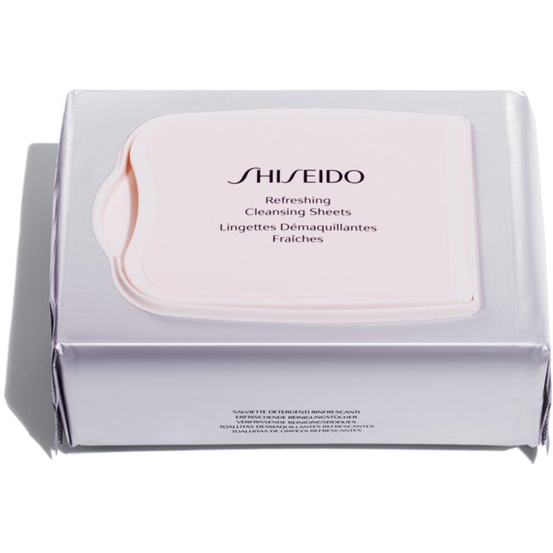 Shiseido Generic Skincare Refreshing Cleansing Sheets кърпички за почистване на грим за дълбоко почистване 30 бр.