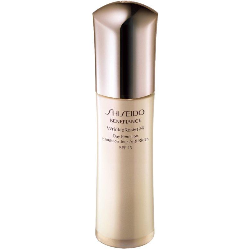 Shiseido Benefiance WrinkleResist24 Day Emulsion ránctalanító emulzió SPF 15