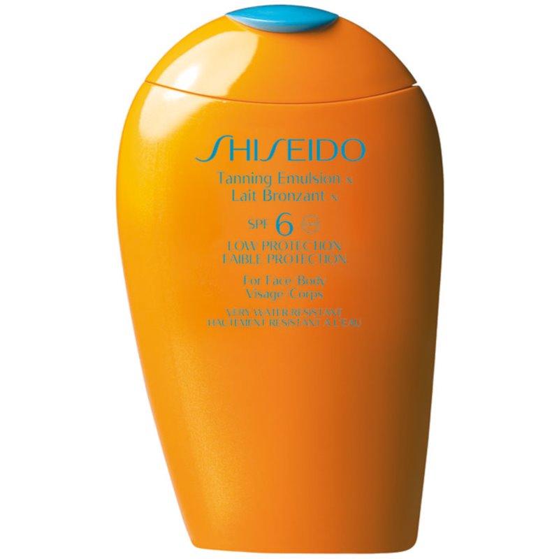 Shiseido Sun Care Tanning Emulsion protetor solar SPF 6 150 ml