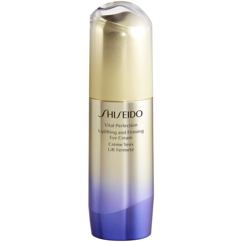 Shiseido Vital Perfection Uplifting and Firming Eye Cream spevňujúci očný krém proti vráskam 15 ml