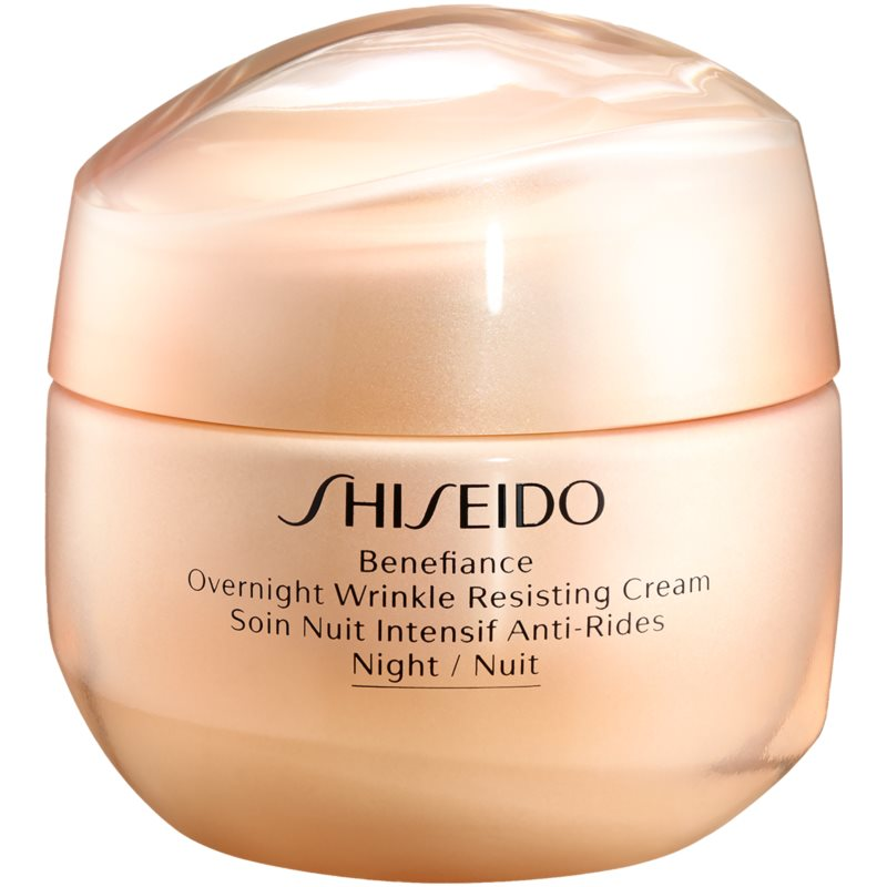Shiseido Benefiance Overnight Wrinkle Resist Cream nočný krém proti vráskam 50 ml